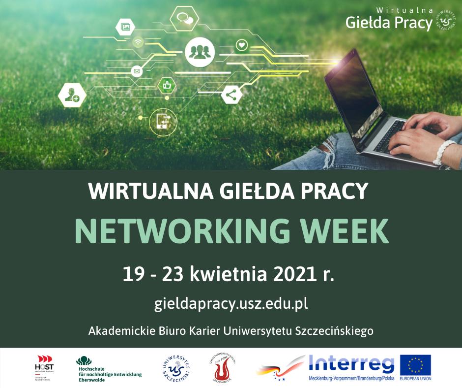 Wirtualna Giełda Pracy – Networking Week (19-23.04.2021 r.)