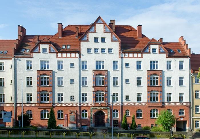 Budynek ul. Mickiewicza 16-18