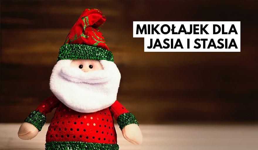 Aukcja Mikołajkowa WPiA US 2020 dla Jasia i Stasia