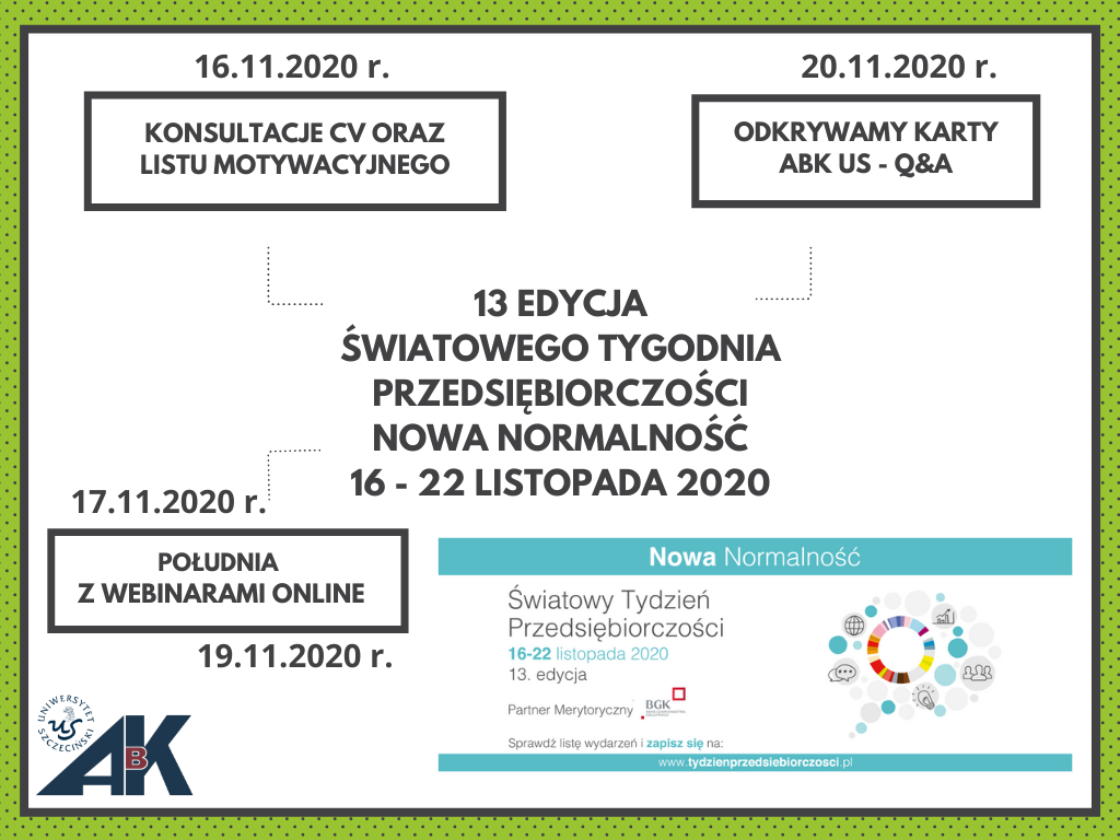 Światowy Tydzień Przedsiębiorczości 2020 r.